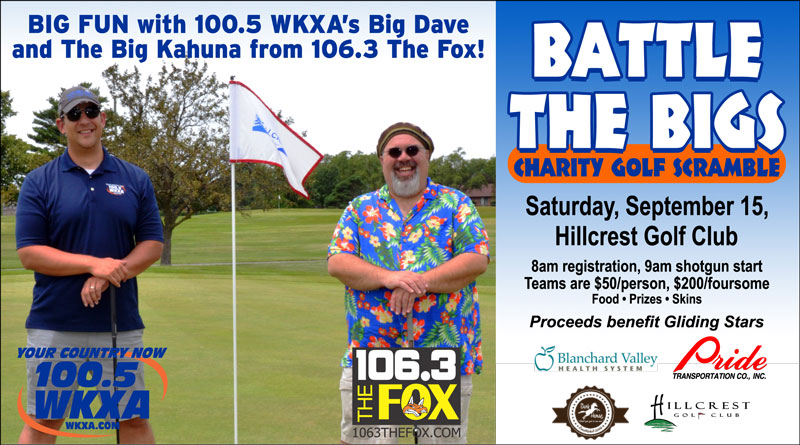 Battle The Bigs Charity Golf Scramble