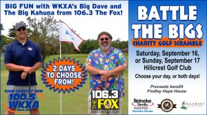 Battle The Bigs Charity Golf Scramble @ Hillcrest Golf Club | Findlay | Ohio | United States