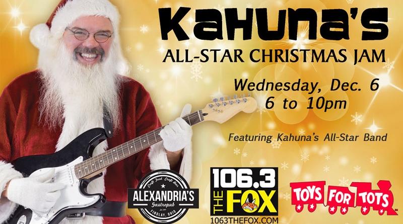 Kahuna's Christmas Jam