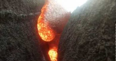 A GoPro Is Engulfed by Lava, and the Video Survives