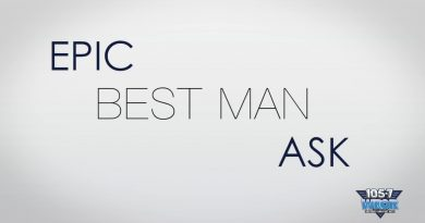 Now THIS Is A Best Man Ask!