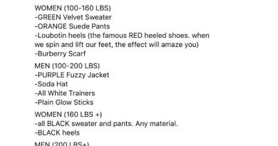 Bride Issues A Dress Code For Her Wedding, Based On People's Weight