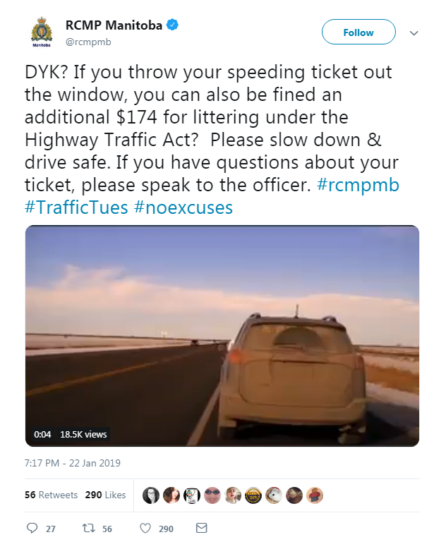 A Good Way To Make An Expensive Speeding Ticket Even MORE Expensive