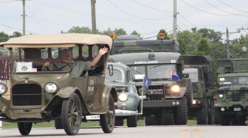 Convoy Of Historic Military Vehicles Rolls Through Ohio On