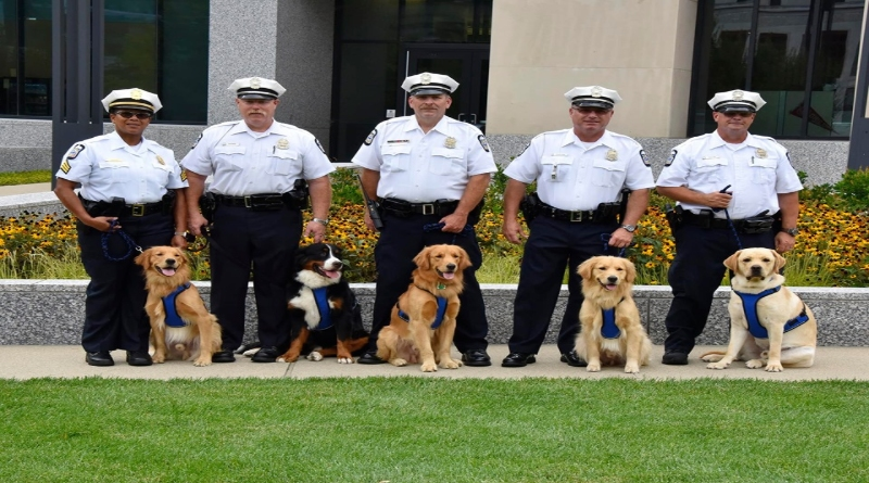 Ohio Police Department Unveils New Therapy Dog Unit – 106 3