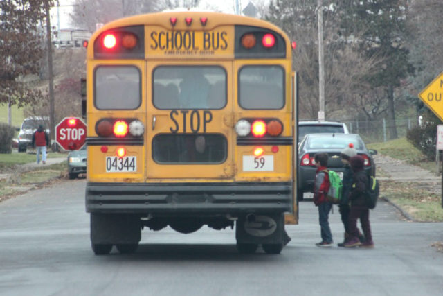 August Is Bus Safety Month – 106 3 The Fox