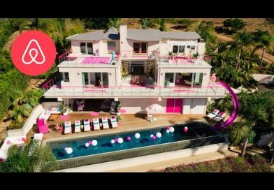 Stay in a Full-Sized Version of Barbie's Malibu Dream House