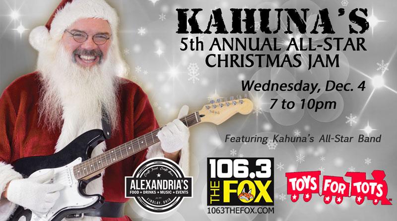 Kahuna's Christmas Jam 2020
