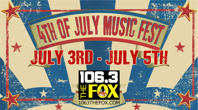 4TH OF JULY MUSIC FEST