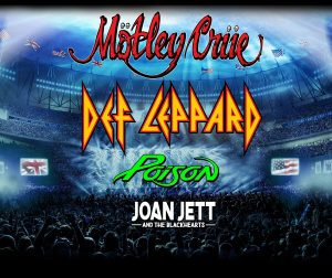 Motley Crue, Def Leppard, Poison, Joan Jett and the Blackhearts *NEW DATE FOR 2021* @ FirstEnergy Stadium