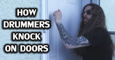 THIS Is How Drummer's Knock On Door