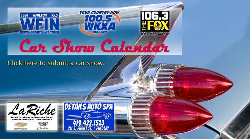 Car Show Calendar
